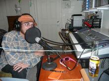 Cacti radio studio 2009