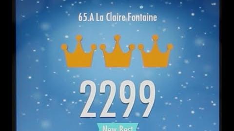 Piano Tiles 2 A La Claire Fontaine High Score 2299 Piano Tiles 2 Song 65