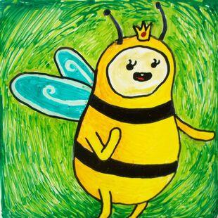 Bee princess by marandaschmidt-d563d08