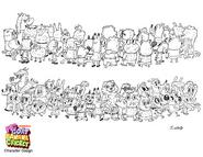 PGBC - Bananaland Characters2
