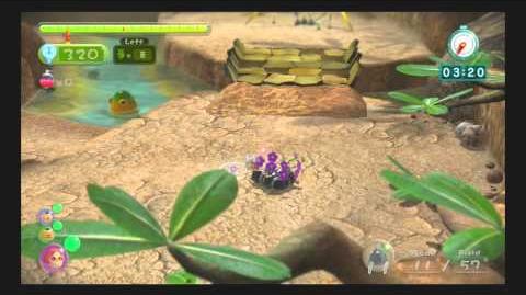 Pikmin 3 - Thirsty Desert - Battle Enemies