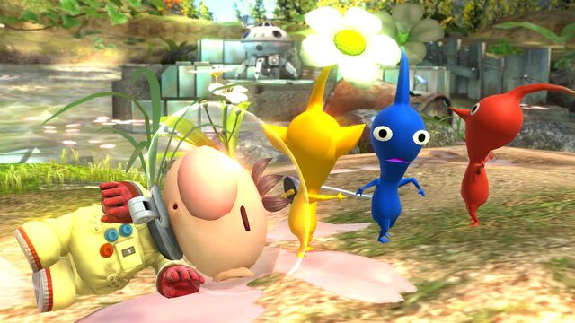 File:Olimar and Pikmin Smash pic 6.jpg