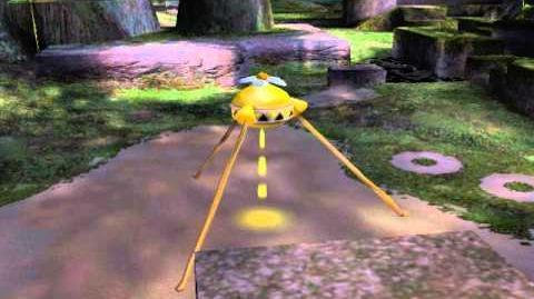 Pikmin 2 - Yellow Onion Boot Up (Unused cutscene)