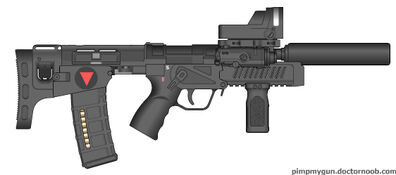 Valkryie Industries U-CAR (Ultra-Compact Automatic Rifle) Tactical