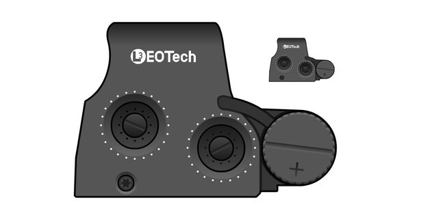 EoTech XPS2-2 Holo Sight
