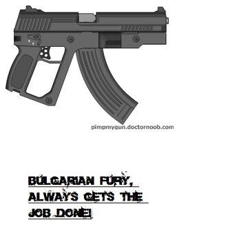 The Arcus Galactic Combat Pistol (GCP)