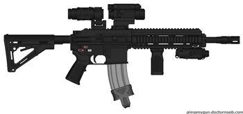 Myweapon172 black