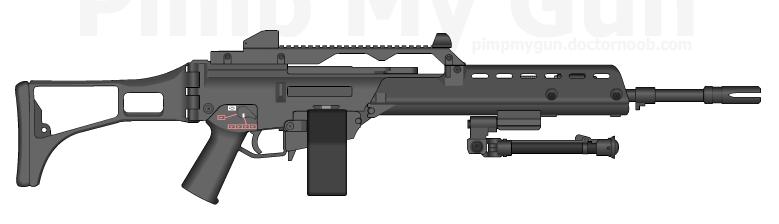 MG36 | Pimp My Gun Wiki | FANDOM powered by Wikia | 779 x 224 png 24kB