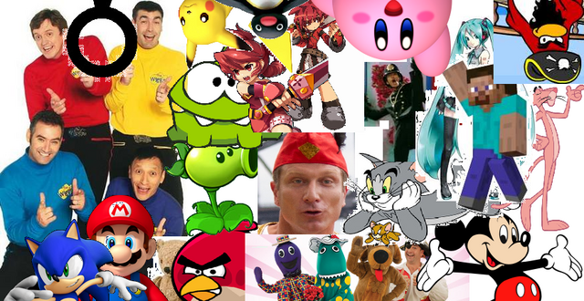 File:The Wiggles, Wiggly Friends and Non-Wiggly Friends.png