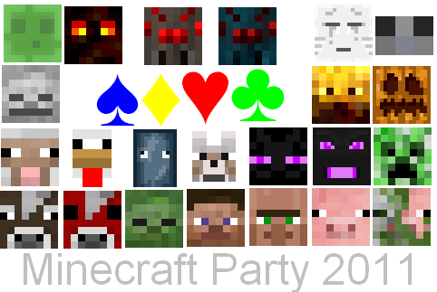 File:Minecraft Party 2011 Poster.PNG
