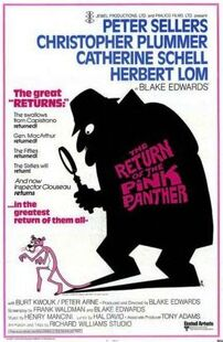 The Return of the Pink Panther poster