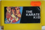 The Karate Kid Famicom Pirate Cart 1