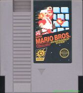 Super Mario Bros cart