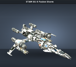 STAM SG-X Fusion Storm