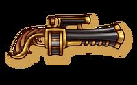 Firearms-pumpkin-hell-pistol-icon