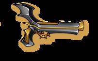 Firearms-bat-pistol-icon