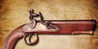 Blackbeard's pistol