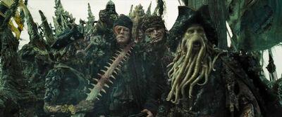 Davy Jones Crew Summon Kraken DMC