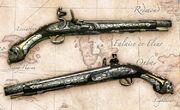 Barbossa's pistol