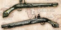 Hector Barbossa's pirate pistol