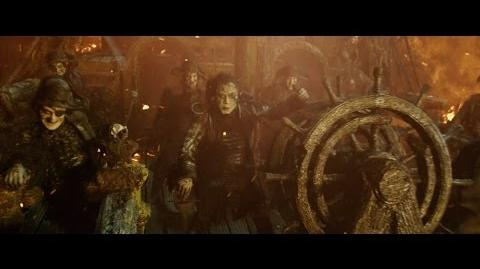 Pirates of the Caribbean Dead Men Tell No Tales - Pirate's Death