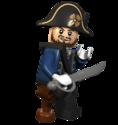 LEGO Barbossa privateer
