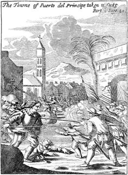 441px-Puerto del Príncipe - being sacked in 1668 - Project Gutenberg eText 19396