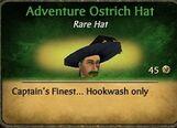 Adventure Ostrich HatM