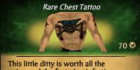Skull Cross Full Chest Tattoo