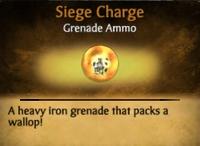 Siege Charge