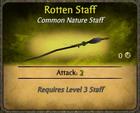 Rotten Staff Card