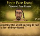 Pirate Face Brand