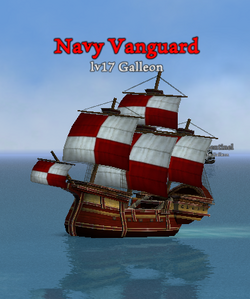 Navy Vanguard clearer