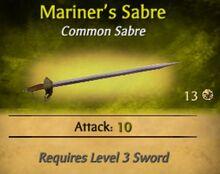 Mariner's Sabre