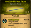 Voodoo Hunter Sabre