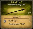 Tribal Staff Card