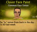 Clover Face Paint