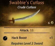 Swabbie's Cutlass