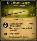 EITC Thug's Dagger Card