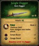 Jungle dagger