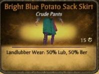 File:Bright Blue Potato Sack Skirt.jpg
