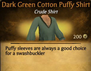 File:Dark Green Cotton Puffy Shirt.jpg