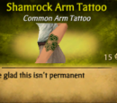 Shamrock Arm Tattoo