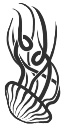 Tattoo arm mono tribal jellyfish 02 copy