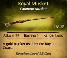 Royal Musket