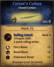 Corsair's Cutlass