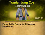 Tourist Long Coat