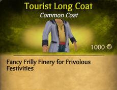 Tourist Long Coat