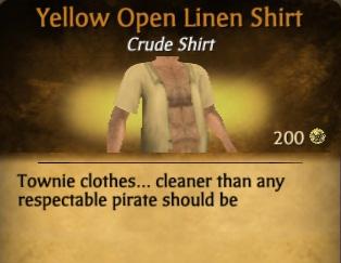 File:Yellow Open Linen Shirt.jpg