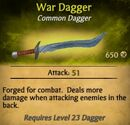 War Dagger